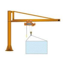 Free Standing BZ Cantilever Manual Jib Crane Hoist Easy Ope