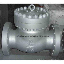 900lb Cast Carbon Steel Wcb Flange End Swing Check Valve