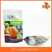 Custom Food Grade Alumínio Pouch / Prata Plastic Foil Bag / Alumínio Foil Saco De Plástico / Folha De Alumínio Potato Chips Bag