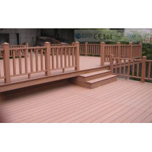 Eco-Friendly Wood Plastic Composite Decking with CE, Fsc, SGS, Certificate