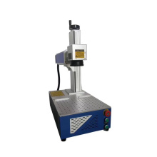 Máquina de grabado láser de fibra móvil