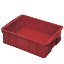 Red Plastic Turnover Box with Lid