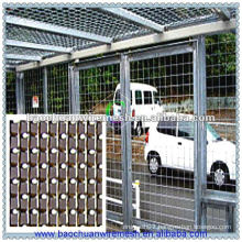Silver stainless steel rot proof road safety fence