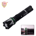 High Voltage Zoomable Flashlight Stun Guns with Electric Shock