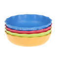 Φ204 plateau de fruits de fibre de bambou * H50mm