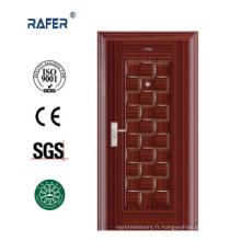 Porte de sécurité en acier de conception complexe (RA-S079)