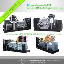 Generador diesel del motor de 50Hz 750kw Mitsubishi con calidad original y precio razonable