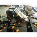 Cales de roue en caoutchouc solide pour les camions