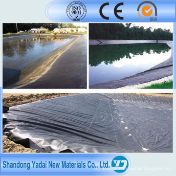 HDPE Geomembrane Materials Used in Animal Waste Containment