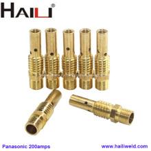 HAILI Panasonic Латунный контактный держатель для наконечников 200AMP