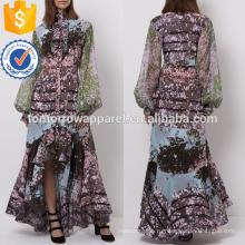 Мульти цифровой печати платье Производство Оптовая продажа женской одежды (TA4054D)