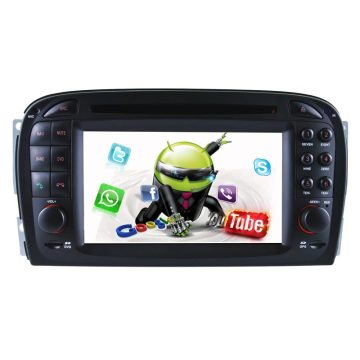 Android 5.1/1.6 GHz Portable Car DVD GPS Navigation for Mercedes Benz SL-R230 with Phone Connection