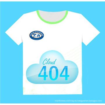 Sublimación Todas las camisetas de encargo de la impresión