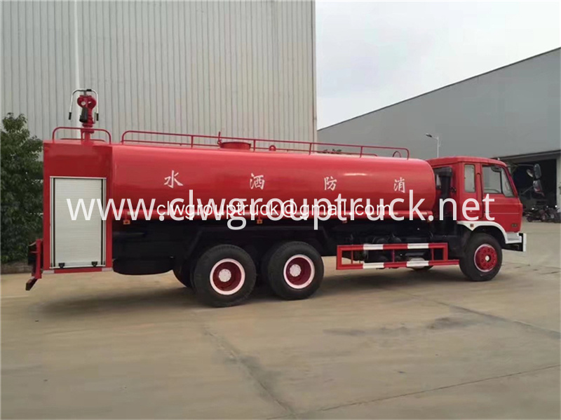 Dongfeng 6x2 Water Tanker Truck 2