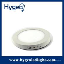Brilho elevado 20W, redondo, superfície montada luz do painel conduzido