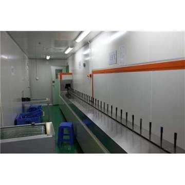 PU primer UV top coating line