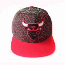 Wholesale Cotton Material Full Printing Snapback Cap