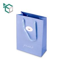 Lady Shopping pour le sac-cadeau de papier d'emballage Kraft stratifié mat