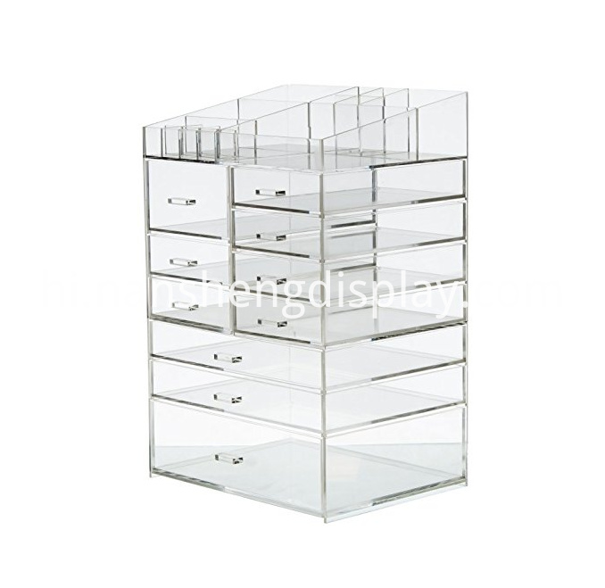 Acrylic Large 10 Drawers Organizer