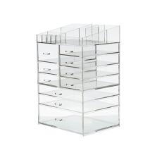 Acrylic Large 10 Drawers Acrylic Makeup Organizer