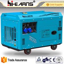 Generador diesel de 8.0 Kw / generador portable del uso casero (DG11000SE)