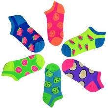 Garota sem mostrar meias de algodão/Fancy meias meias /Fruit