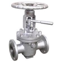 Brida conexión válvulas de tapón de elevación