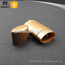 15ml 40ml 50ml 75ml ovale forme pp matériel vente chaude gel déodorant conteneur
