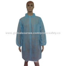 PP Lab Coat with Pockets Outside