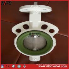 Válvula de borboleta de tipo wafer em ferro fundido / ferro dúctil