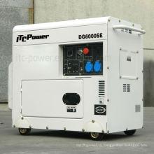 5kva дизель-генератор беззвучный, генератор, дизельный двигатель