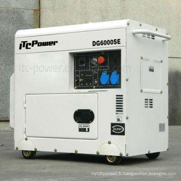 Refroidisseur diesel 5,5kw DG6000SE