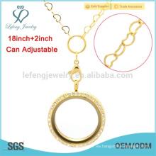 Cadenas hechas a mano del oro de dubai de la fantasía, cadenas de jean de Corea para los cabritos
