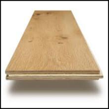 Plancher en bois d'ingénierie de chêne blanc de ménage