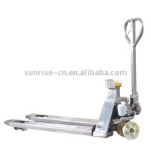 stainless steel pallet truck with scale - ZFS