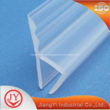 PVC frameless shower door seal