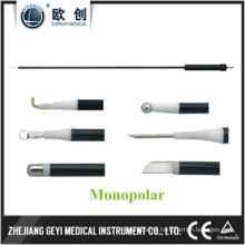 Instrumentos laparoscópicos de coagulación Electrodo monopolar L Gancho