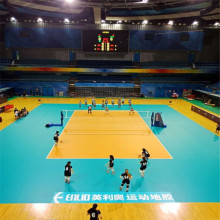 FIVB Approved High Quality Vinyl Volleyball Flooring