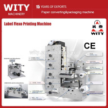 Máquina de impresión de etiquetas flex