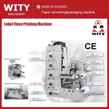 Máquina de impressão de etiquetas flex