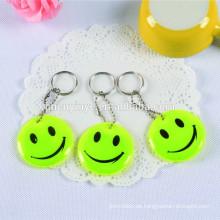 Förderung Geschenke PVC-Schlüsselanhänger, reflektierende Pvc Schlüsselanhänger PVC Reflexion Schlüsselanhänger