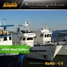 Utilisation résidentielle résidentielle de générateur de turbine de vent du générateur 400W