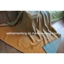 100 % reine neue Schurwolle Decke (NMQ-WB033)