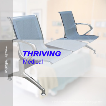 Low-Price Stainless Steel Hospital Accompanying Waiting Chair (THR-YD1026-T)