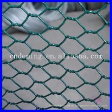 Billig!!! 2014 neues Design Galvanisiertes oder PVC beschichtetes sechseckiges Drahtgeflecht für Gartenfenc (Direktfabrik Großverkauf)
