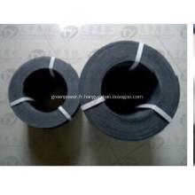 Rouleau de garniture de frein en caoutchouc d'amiante
