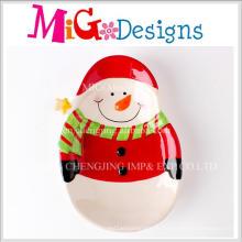 Китай Поставщиком Большой Рождественский Подарок Снеговик Дизайн Ceramci Плиты