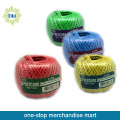 colored plastic rope