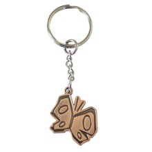 Fareast Hot Metal butterfly key chain