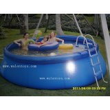 inflatable pvc pool 8'x30""